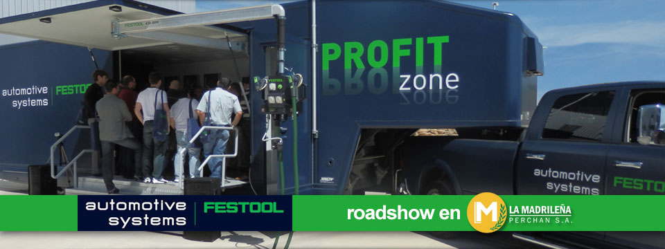 Éxito de convocatoria para el evento Road Show de Festool en La Madrileña