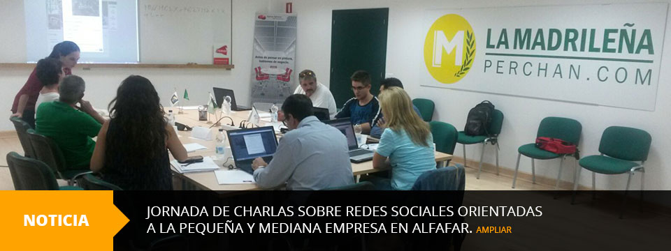 Jornada de Charlas sobre redes Sociales en Alfafar