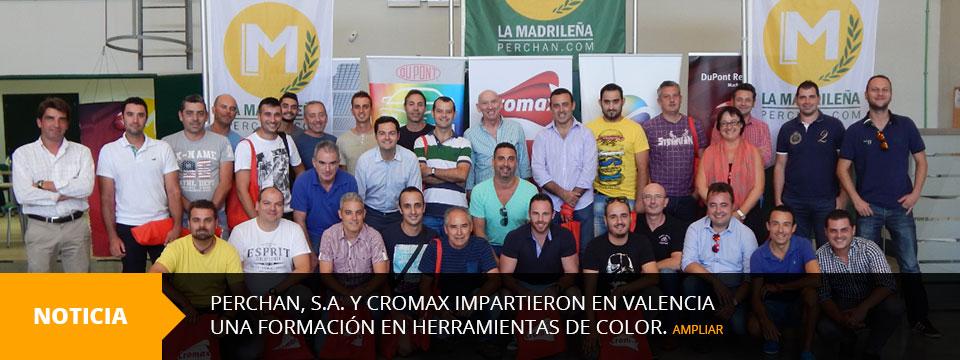 Perchan, S.A. y Cromax, Formación Herramientas de Color.