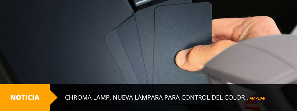 Chroma Lamp, nueva lámpara para control del color