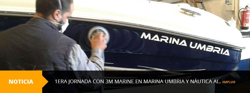 1era Jornada con 3m Marine en Marina Umbria y Náutica AL