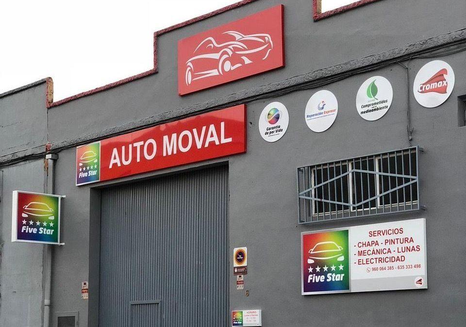 Auto Moval, nuevo socio de la red Five Star de Cromax (Posventa.info)